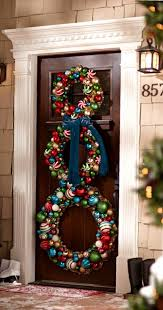 christmas home decoration ideas 56 stunning christmas front door décor ideas family holiday net