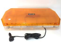 amber mini light bar amber warning lights for vehicles led lightbar led minibar