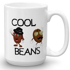 amazon com cool beans coffee mug coffee cup 15 oz mug funny