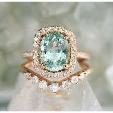 aquamarine wedding rings best 25 aquamarine engagement rings ideas on