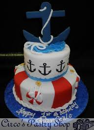 baby shower cakes nautical baby shower cake publix