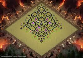 image clash of clans xbow th9 war base 1 th9 war base base by stewartbohrer clash of clans