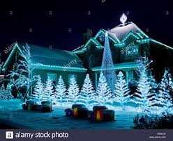 Christmas Lights House by Usa Utah American Fork House Decorated With Christmas Lights And