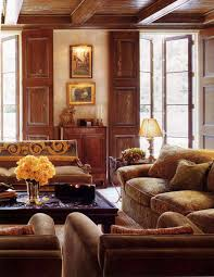 Spanish Living Room Interior Cjinteriors Spanish Tuscan - Spanish living room design