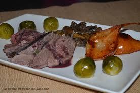 cuisiner gigot de chevreuil gigue de chevreuil la popotte de patoche