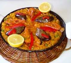 cuisiner une paella recette la paella aux fruits de mer 750g