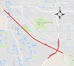 Shawnee Map Fdot Sr 82 Road Widening