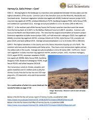 tour area soils primer oregon society of soil scientists