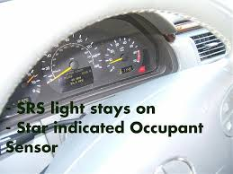 what does it mean when the airbag light comes on srs airbag sensor light has came on mercedes benz forum