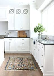 backsplash ideas for white kitchens pictures of kitchens with white cabinets and black countertops