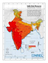 India Maps by Nrel International Activities India Solar Resource Maps U0026 Data