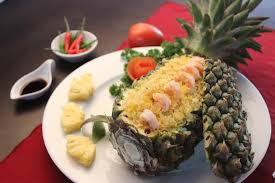chien cuisine recipes fried rice with pineapple com chien trai thom