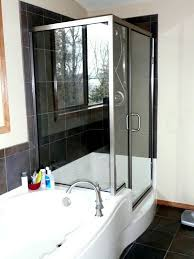 accessories u0026 furniture impressive jetted tub shower combo with