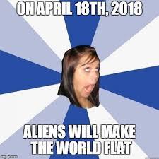Make A Meme Aliens - omg girl imgflip