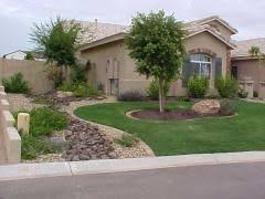 Front Yard Desert Landscape Mediterranean Exterior 10 Easy Arizona Landscaping Ideas For Spring I Need Something