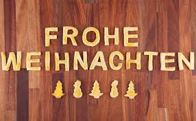 frohe weihnachten with cookies stock photo image of copyspace