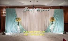 wedding backdrop curtains silk backdrop curtain for wedding stage decoration buy