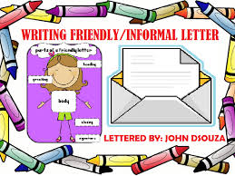 friendly informal letter writing lesson u0026 resources tes