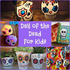 Day of the Dead Crafts Dia De Los Muertos Red Ted Art s Blog