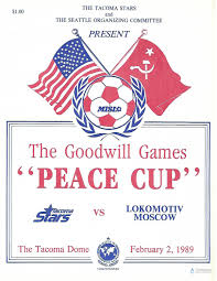 1989 tacoma stars indoor soccer goodwill games peace cup vs
