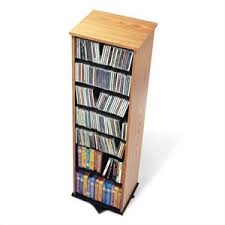 Cd Cabinet With Drawers Leslie Dame 6 Drawer Deluxe Cd Modular Storage Cabinet In Oak Cd