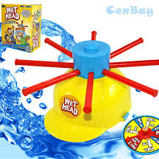 Challenge Prank Family Hat Water Challenge Toys