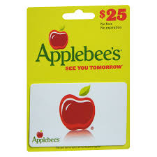 applebee gift card applebees 25 gift card walgreens