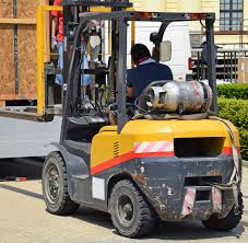 best practices for operating a forklift outdoors