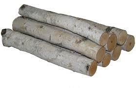 amazon com wilson enterprises log bundle white birch home u0026 kitchen