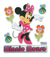 Minnie Mouse Easter Stickers Minnie Mouse Stickers 3d Scrapbook Stickers Joann