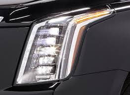 cadillac escalade led headlights outshine all others consumer