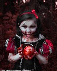 Bloody Mary Halloween Costume Kids Brit Bentine Creates Picture Series Featuring Children Horror