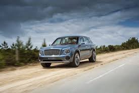 bentley suv 2014 smaller bentley suv to follow full size model