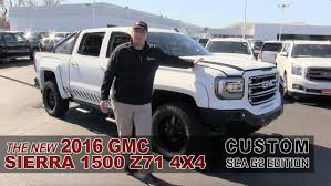 lifted white gmc the new 2016 gmc sierra custom sca g2 white bear lake st paul