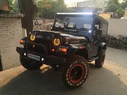 custom convertible jeep custom mahindra thar by revheads chandigarh