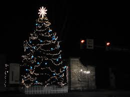 allen tree to light up tonight onward state