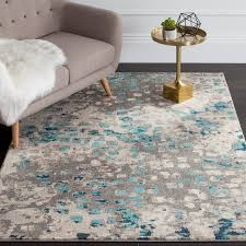 Area Rugs Blue Crosier Grey Light Blue Area Rug Reviews Joss