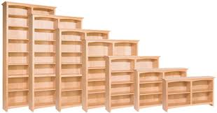 Unfinished Bookcases With Doors Low Prices U2022 Whittier Wood Mckenzie Bookcases U2022 Al U0027s Woodcraft