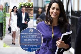 wedding registers george clooney posts wedding banns ahead of marriage to