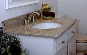 lovely taking off an old bathroom laminate countertop and