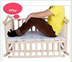 environmental protection baby bed solid wood baby crib