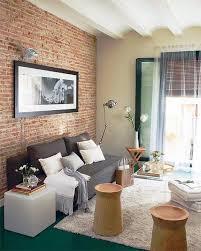 livingroom walls 59 cool living rooms with brick walls digsdigs