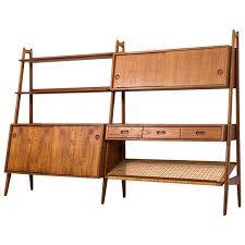 Free Standing Bookcases Arne Vodder And Anton Borg Freestanding Bookcase By Vamo In