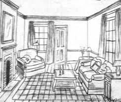 Room Sketch Sketches And Renderings By Lauren Vancamp At Coroflot Com