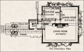 Frank Lloyd Wright Home And Studio Floor Plan A Fireproof House For 5000 Frank Lloyd Wright 1907 Ladies