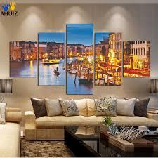 night city cuadros decoracion hd printed modern canvas painting