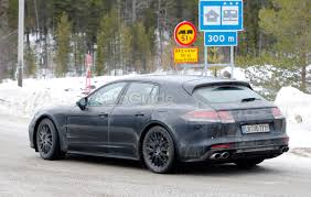 porsche panamera dark blue porsche panamera wagon caught fully exposed autoguide com news