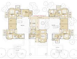 ground floor plan second floor plan co housing manor is a design