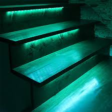multi color led landscape lighting outdoor steps and railing led lighting kit weatherproof multi