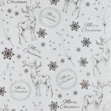 silver christmas wrapping paper silver ribbed kraft wrapping paper pipii snowflake gift wrap etsy